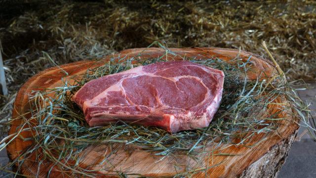 Vente de bœuf au détail (dans la mesure des stocks disponibles)